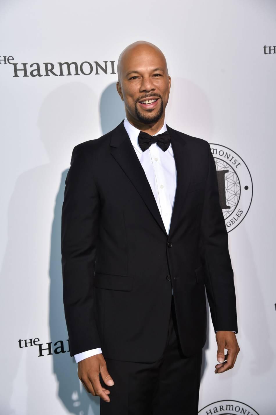 """Common au photocall de la soirée """"The Harmonist"""" lors du 69ème Festival International du Film de Cannes."""