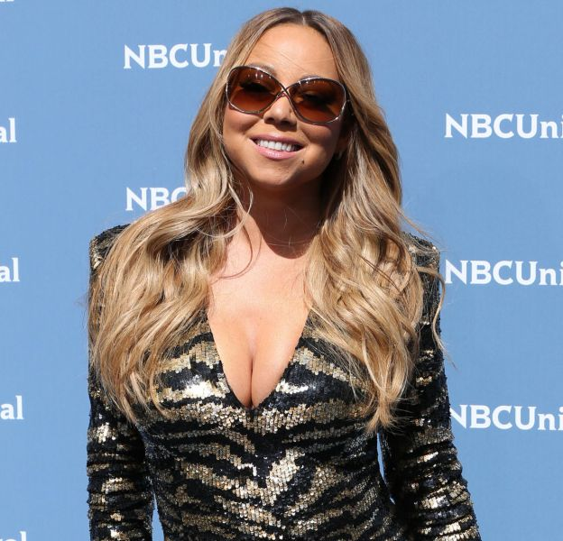 Mariah Carey à la soirée NBCUniversal Upfront au Radio City Music Hall à New York, le 16 mai 2016.