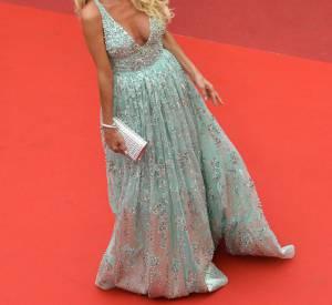 Victoria Silvstedt: la cheveulure dorée et le teint bronzé, Victoria est étourdissante.