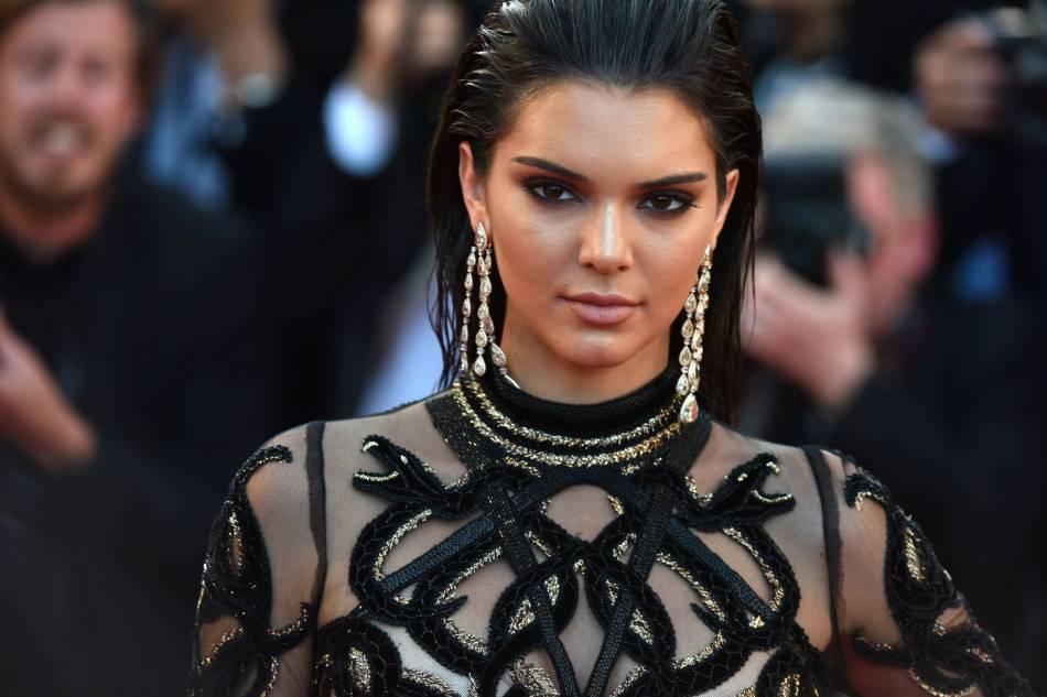 Kendall Jenner a fait sensation avec sa coiffure wet look lors de ce Festival de Cannes.