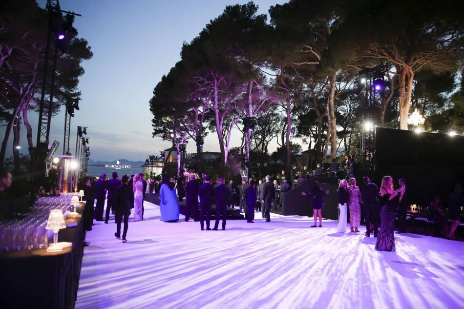 La soirée de Grisogono était l'évènement phare de ce 17 mai 2016 à Cannes.