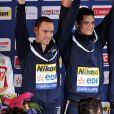 Espérons que Florent Manaudou obtiendra l'or jeudi. Il est en compétition pour le 50m nage libre.