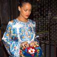 Rihanna s'étonne de ne pas se reconnaitre avec les filtres Snap.