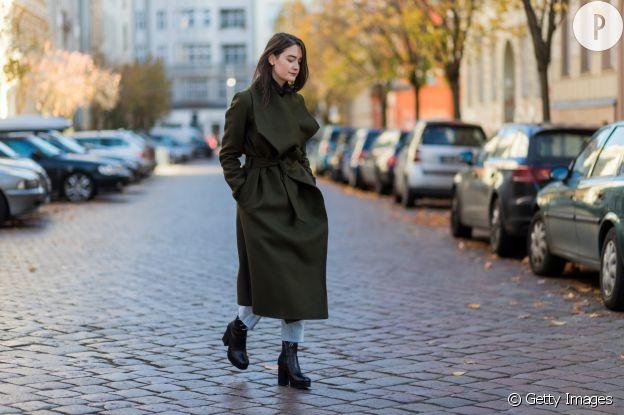 Le manteau peignoir est une solution efficace pour l'effet taille de guêpe.