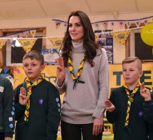 Kate Middleton : visite auprès des scouts