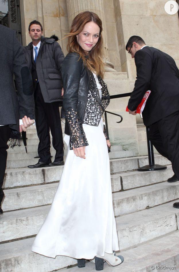 Pour assister à un show Chanel ? Toujours porter du Chanel...