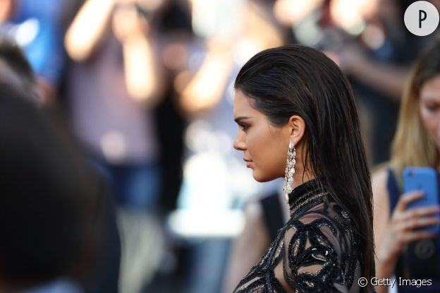 Kendall Jenner ose le wet look à Cannes. On copie !