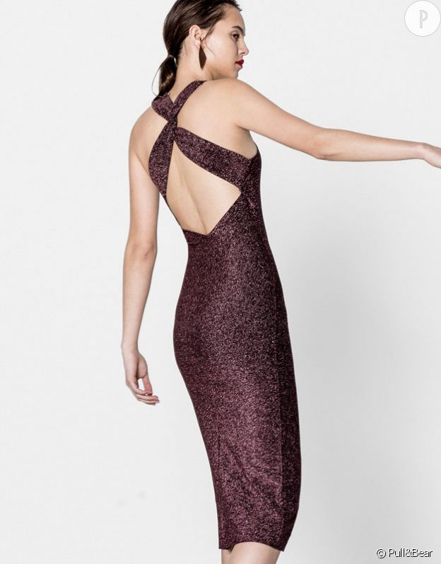 Robe paillettes, Pull&Bear, 25,99€.