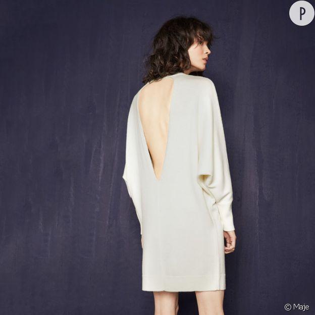Robe pull, MAje, 250€.