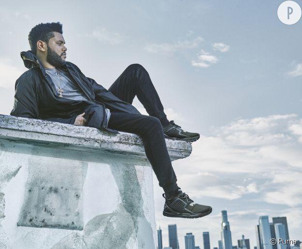 "The Weeknd dans la campagne ""Run the streets"" de Puma."