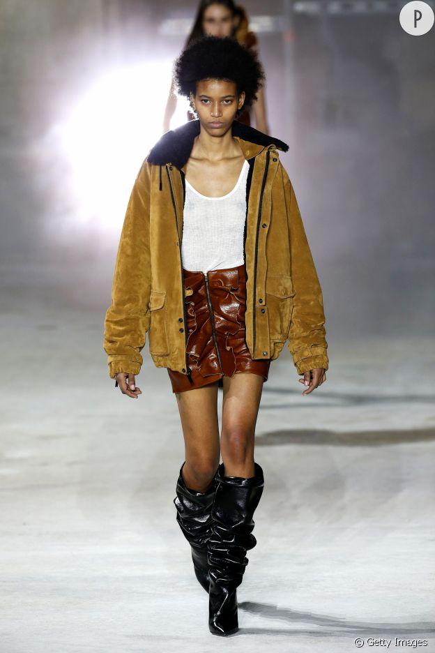 Le sportswear pop fait mouche chez Saint Laurent.