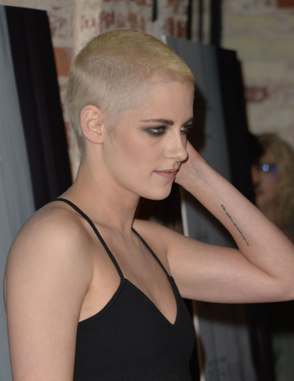 Kristen Stewart se dévoile métamorphosée.