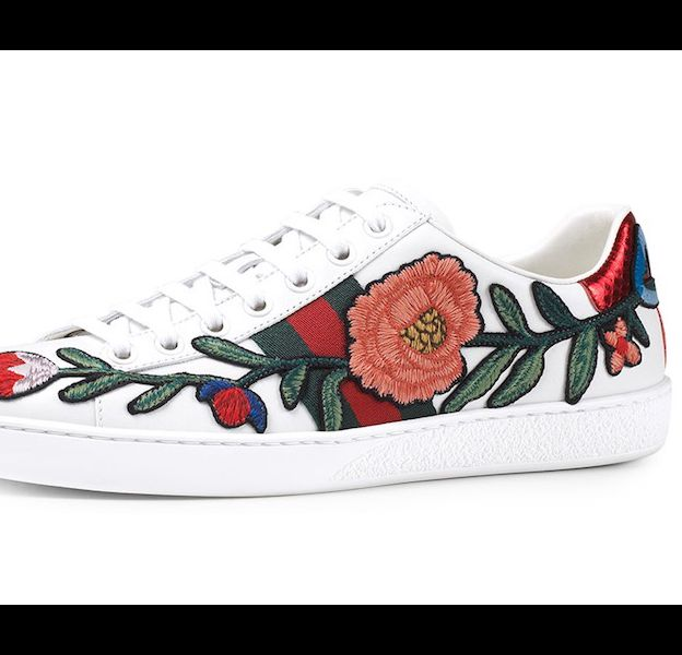 Gucci, Baskets Ace broderies. 595€.