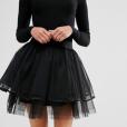 Mini-jupe en tulle Boohoo Petite, 18,50€.