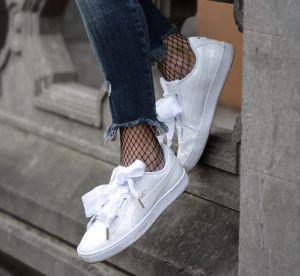 Ces sneakers aux noeuds rubans qui nous font craquer : shopping et conseils