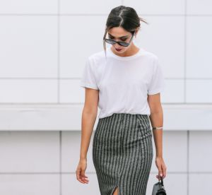Un T-shirt blanc, beaucoup de style...