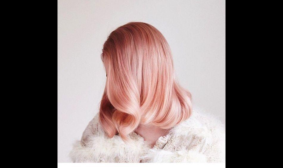 Couleur de cheveux fraise