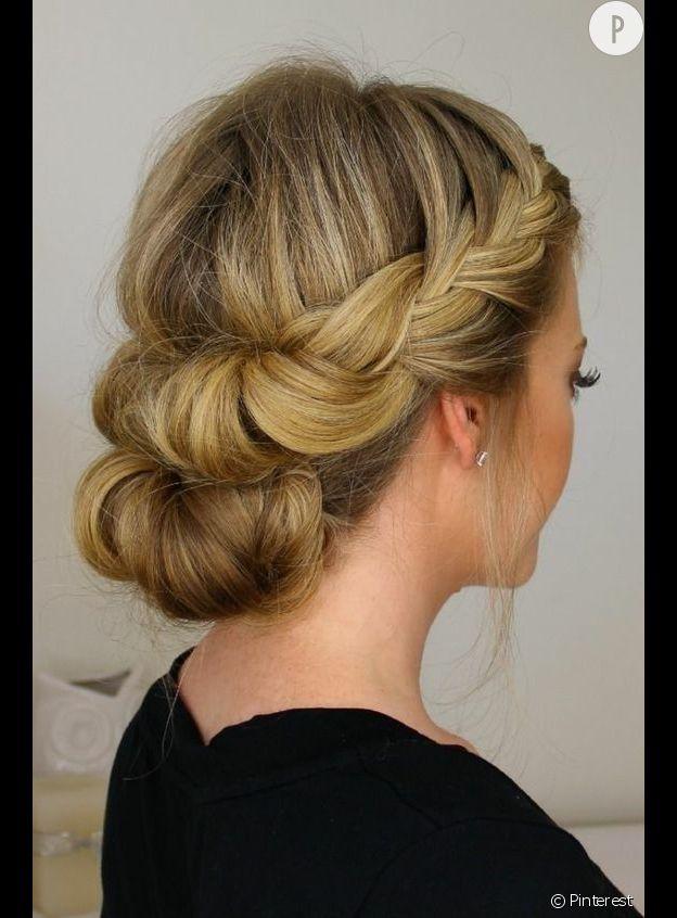 Favorit 5 idées coiffure quand on est invitée à un mariage GZ43