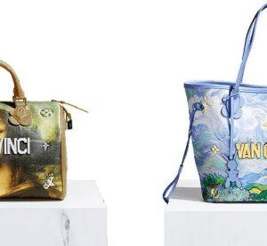 Louis Vuitton x Jeff Koons : le nouveau it-bag star ?