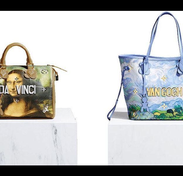 La nouvelle collaboration Jeff Koons x Louis Vuitton.
