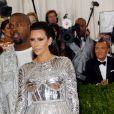 Kim Kardashian lors du Met Ball 2016.