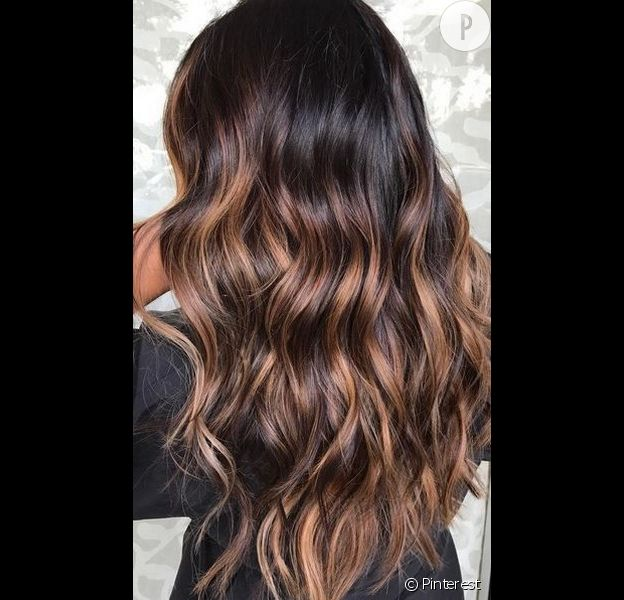 balayage sur brune beautiful balayage cheveux et ombr hair en photos qui en disent beaucoup sur. Black Bedroom Furniture Sets. Home Design Ideas