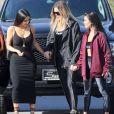 Kourtney Kardashian a fait plus fort que Kim pour la fête des mères.
