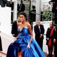 Winnie Harlow a fait sensation pour son premier festival de Cannes.