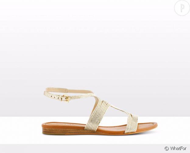 sandales dor es les plus beaux mod les de l 39 t puretrend. Black Bedroom Furniture Sets. Home Design Ideas