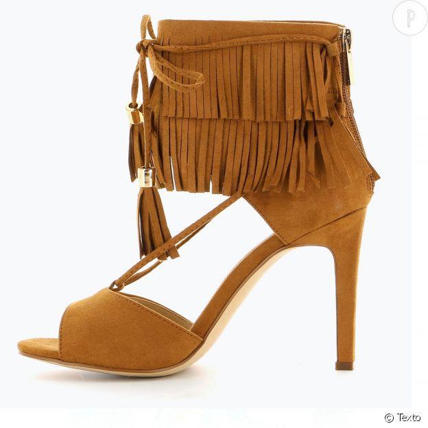 Sandales à franges Texto.