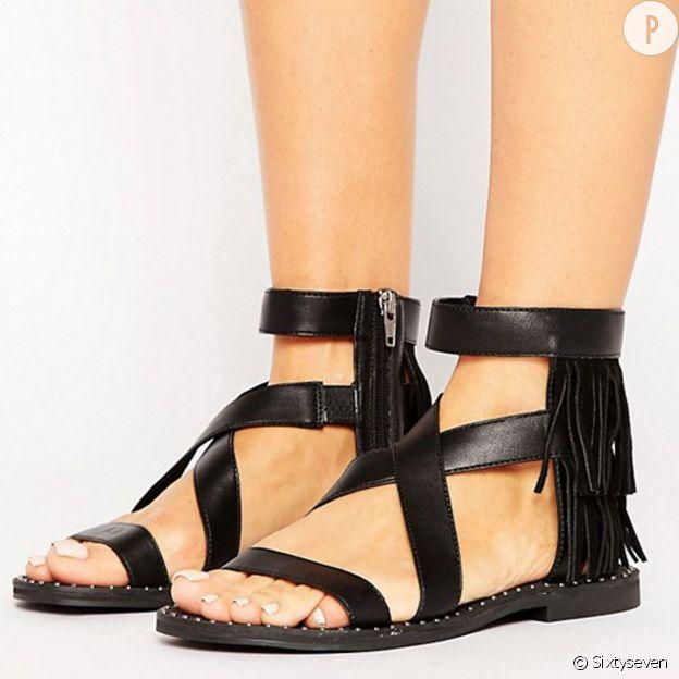 Sandales à franges Sixtyseven.