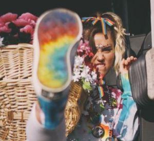 Miley Cyrus : ambassadrice de la ligne Converse Pride