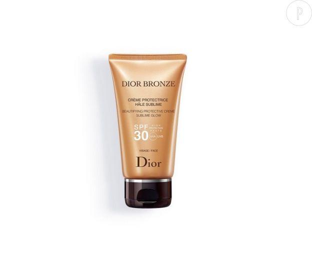 Crème protectrice hâle sublime visage, Dior Bronze, 35,50 €.