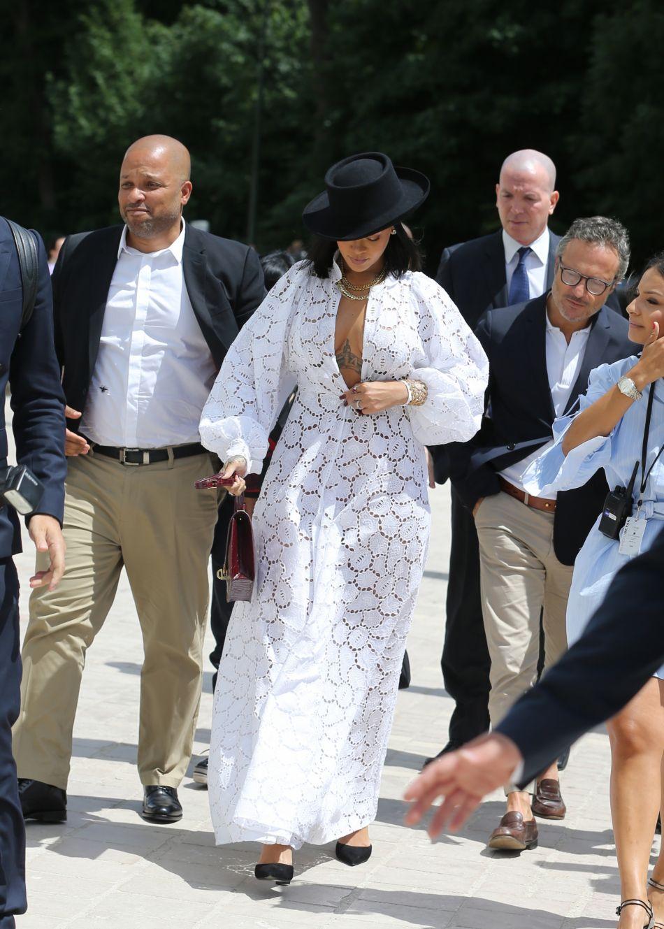 Rihanna : une apparition réussie pour LVMH.