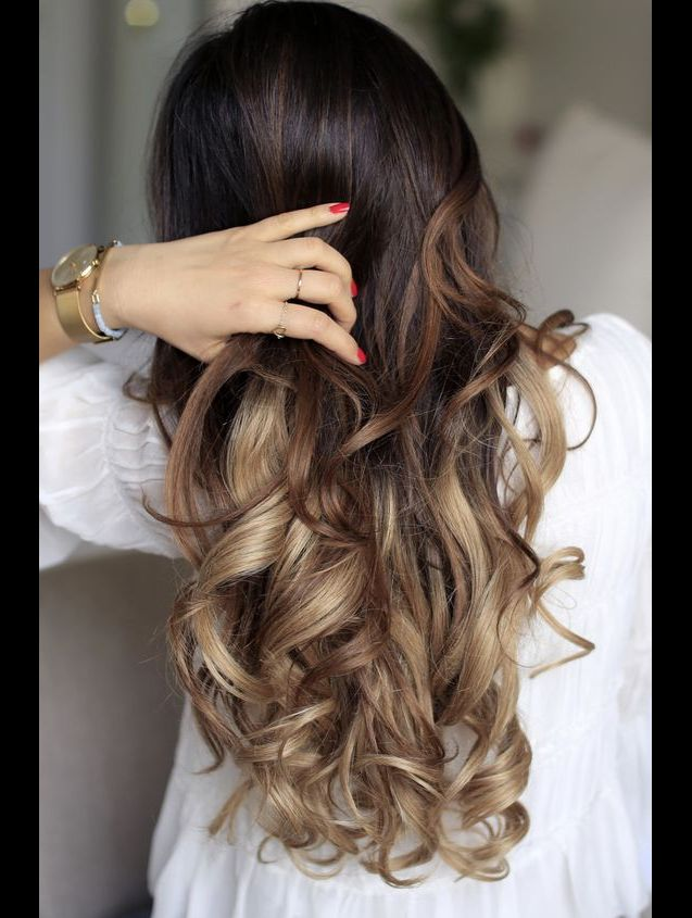 Inspirations ombré hair.