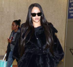 Rihanna, en manteau et jogging amples : les rumeurs de grossesse enflent !