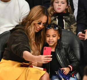 Blue Ivy et Beyoncé : super lookées dans les tribunes du All Star Game