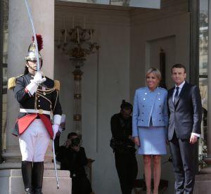 Brigitte et Emmanuel Macron invitent tout le gratin de la mode à l'Elysée
