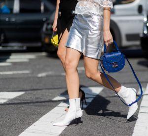 5 inspirations pour porter les bottines blanches avec style