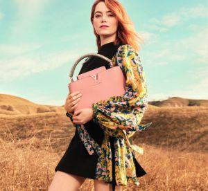 Emma Stone : sa première campagne pour Louis Vuitton