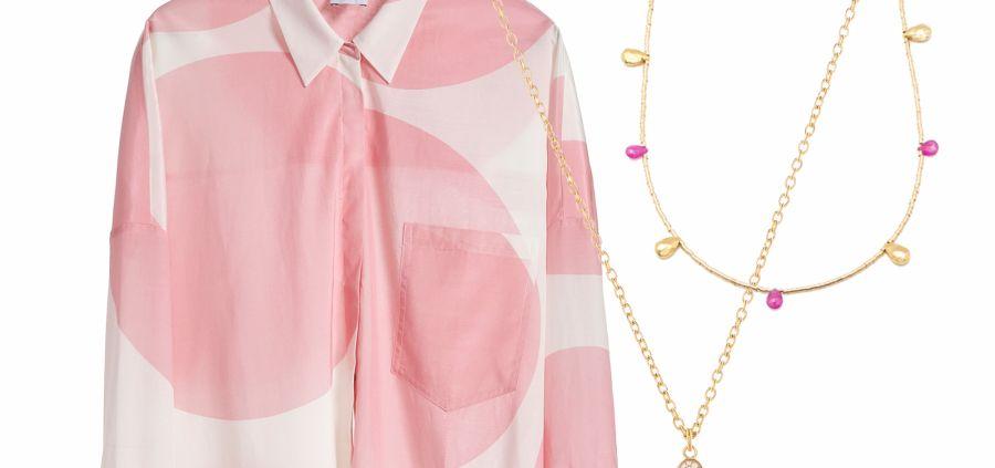 Chemises et colliers : le bon mix pour le bon look