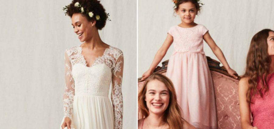 La bonne nouvelle du jour : H&M lance son Wedding Shop