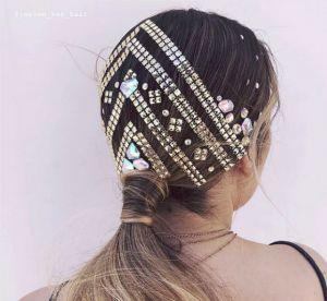Le Jewelled Hair : la tendance cheveux qui va faire fureur en festival !