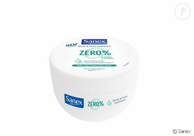 Crème corps et visage Sanex Zero%, 4,95€.