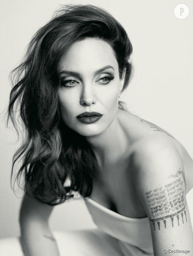 Angelina Jolie est l'égérie de la maison Guerlain.