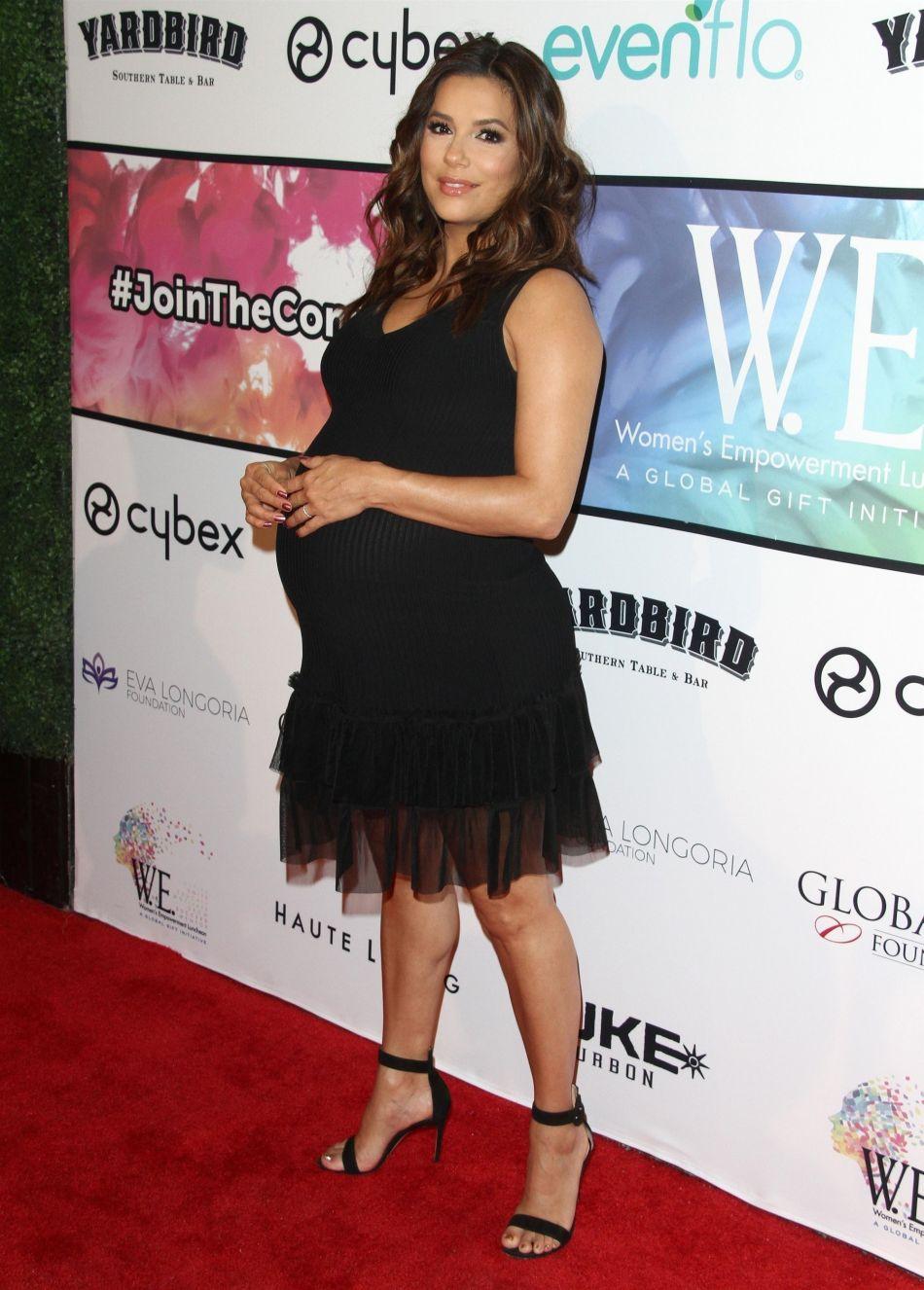Eva Longoria : encore une apparition canon pour la future maman.