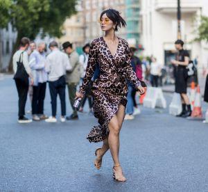 La robe portefeuille, pièce phare de l'été 2018