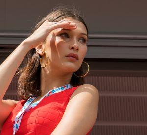 Bella Hadid, sa nouvelle lubie : ne porter qu'un maillot de bain