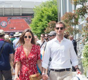 Pippa Middleton : un look stylé à Roland Garros ... et un baby bump ?