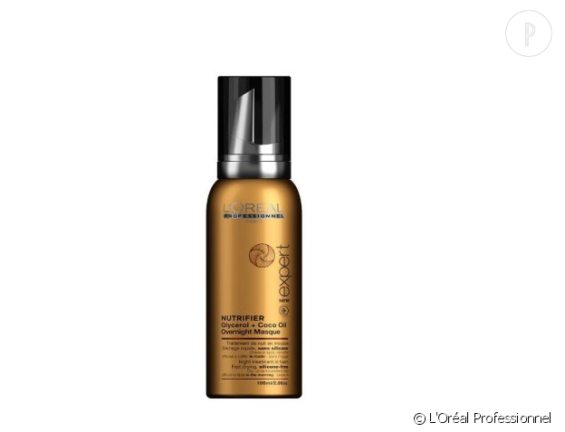 Mousse de nuit sans silicone pour cheveux secs de L'Oréal Professionnel